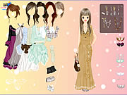 Click to Play Chique Gown Dress Up