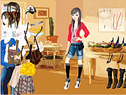 Click to Play Kathryn In House Dressup