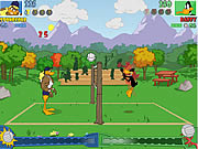 Click to Play Tricky Duck Volleyball