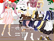 Click to Play Lady Anime Dress Up
