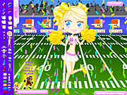 Click to Play Football Cheerleader