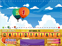 Click to Play Air Balloon Rally