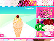 Click to Play Decorate Ice Cream