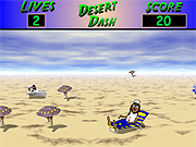 Click to Play 3D Desert Dash