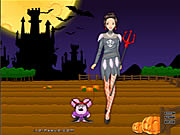 Click to Play Barbie in Halloween