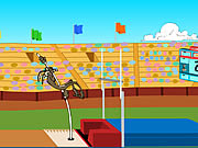 Click to Play Wile E. Cayote's Pole Vault Challenge