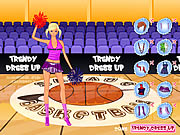Click to Play Trendy Dressup Cheerleader