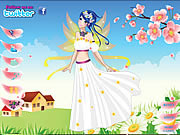 Click to Play Flower Fairy Cutie Dress Up