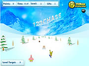 Click to Play Spongebob Squarepants - Snowboard Rider