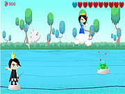 Click to Play Frog Prince Game