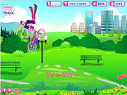 Click to Play Barbie Bike Stylin' Ride