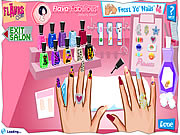 Click to Play Flava Manicure Game
