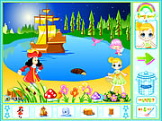Click to Play Peter Pan Neverland Decoration