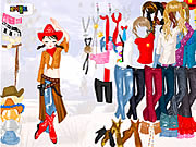 Click to Play Cowgirl Dress Up
