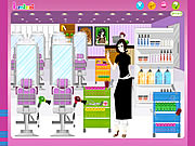 Click to Play Hair Salon Decoration