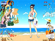 Click to Play Summertime Dress Up