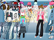 Click to Play HipHop Dressup