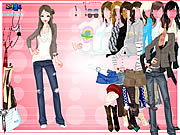Click to Play Karine Dressup
