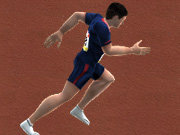 Click to Play 100m Race