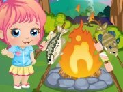 Click to Play Baby Alice Goes Camping