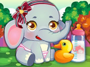 Click to Play Baby Elephant Care