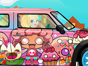 Click to Play Barbie Mini Cooper Car Wash