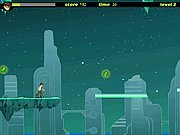 Click to Play Ben 10 Speedy Runner