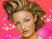 Click to Play Cameron Diaz Celebrity Makeover