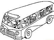 Click to Play Coloring Buses -1