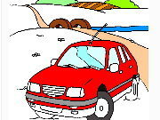 Click to Play Coloring Cars - Transportation -1