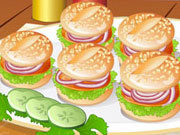 Click to Play Cute Little Mini Burgers