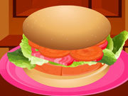 Click to Play Delicious Chicken Burger