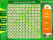 Click to Play Football Word Search