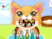Click to Play Kitty at the Dentist
