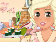 Click to Play Mia Cooking Sushi