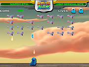 Click to Play Monsters Vs Aliens Galaxhar Attacks