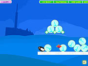 Click to Play Penguins Fun Fall