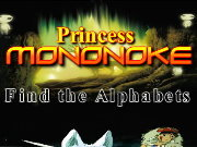 Click to Play Princess Mononoke Find the Alphabets