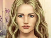 Click to Play Rosie Huntington Make-up
