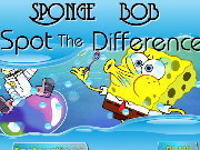 Click to Play Sponge Bob - Spot The Difference