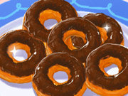 Click to Play Sweet Chocolate Doughnuts