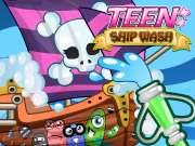 Click to Play Teen Ship Wash